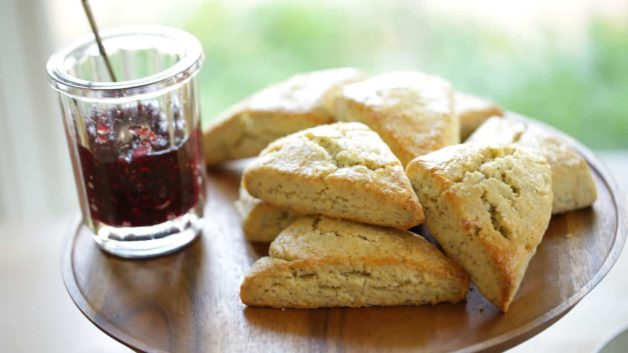 Lemon Poppy Seed Scone Recipe