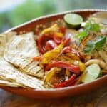 Tequila Lime Chicken Fajita Recipe
