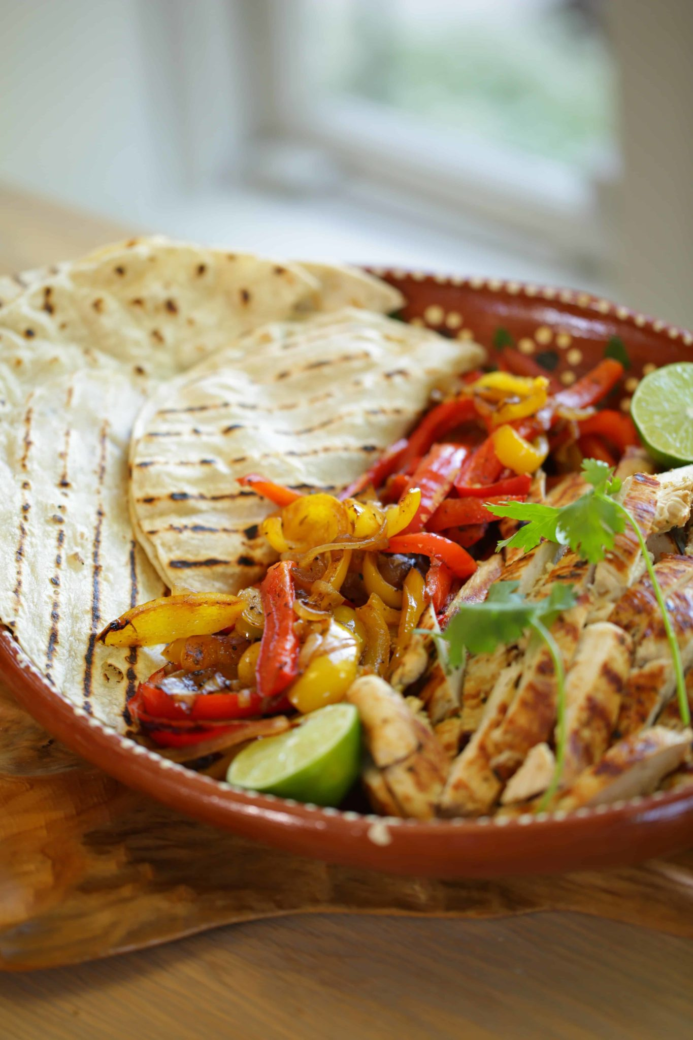 Tequila lime chicken fajita recipe entertaining with beth for Easy tequila recipes