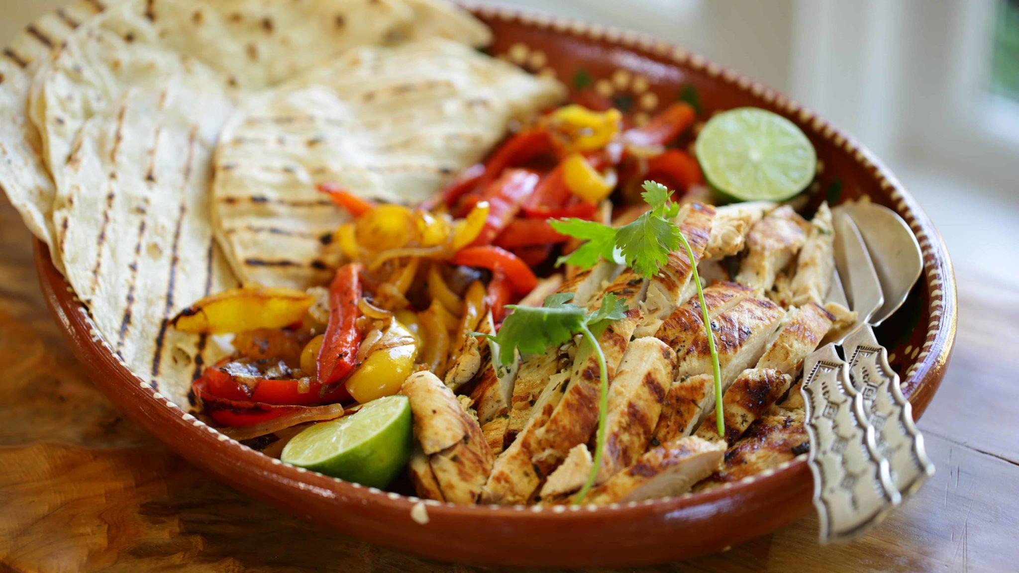Tequila Lime Chicken Fajita Recipe