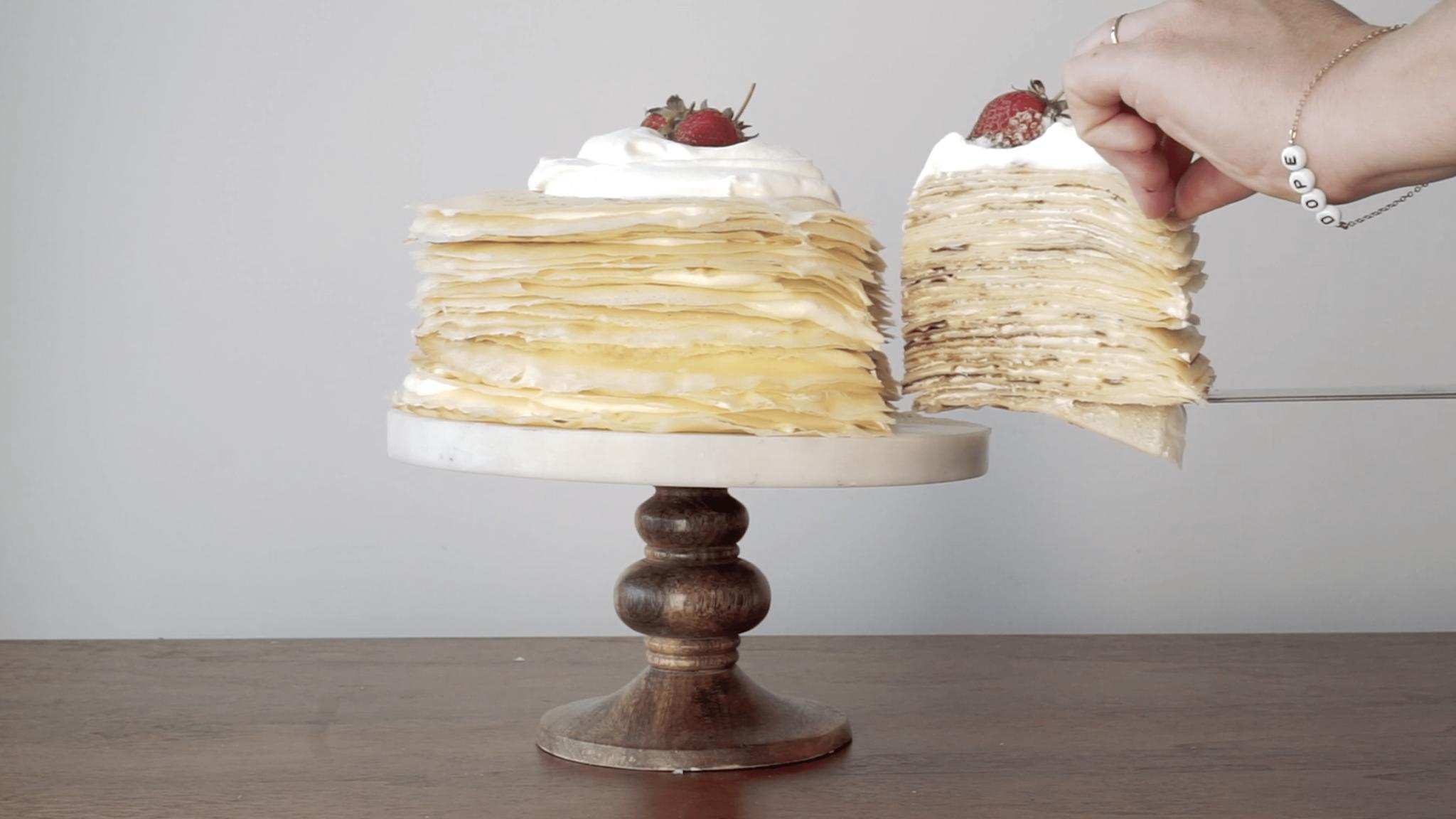 Amanda Frederickson's Crepe Cake Recipe