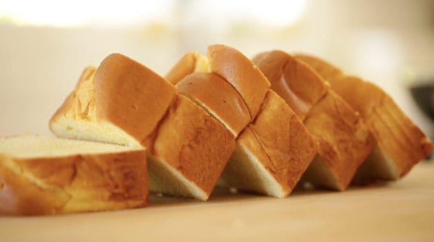 Thick Slices of Brioche for Crunchy Brioche French Toast recipe