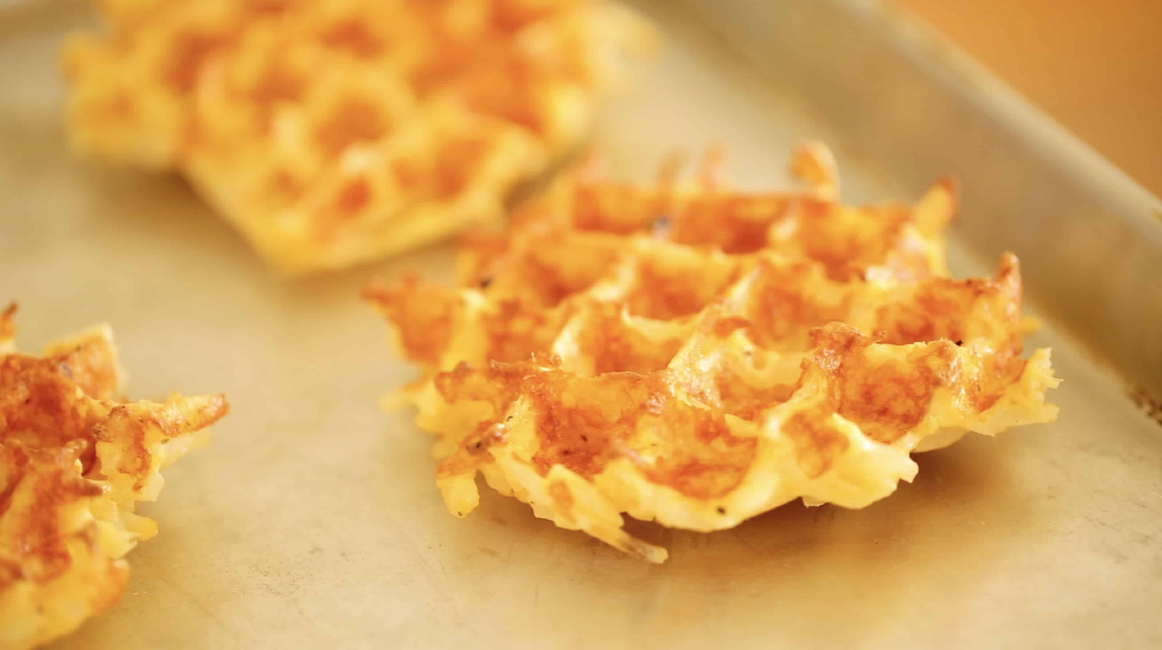 Hashbrown Potato Waffles
