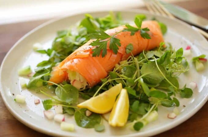 15-Minute Smoked Salmon Roulade