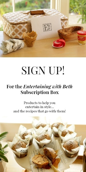 Entertaining with Beth Subscription Box