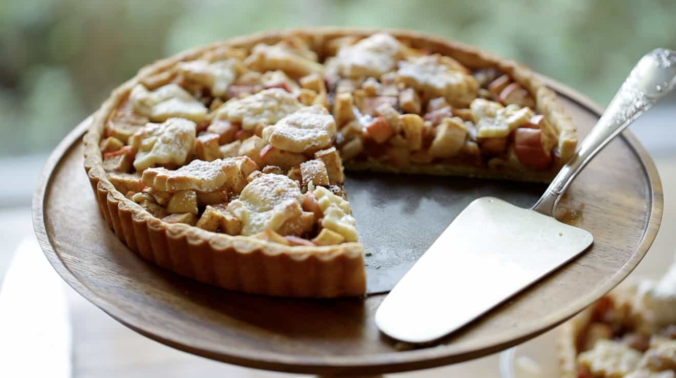 Apple Walnut Tart
