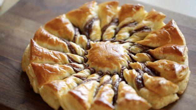 tarte au soleil with Nutella