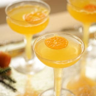 Clementine Mimosa For New Years Eve
