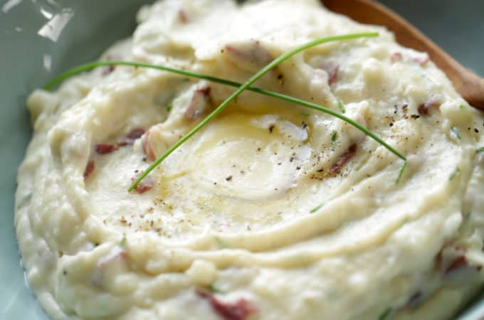 Sour Cream and Chive Mashed Potato Recipe