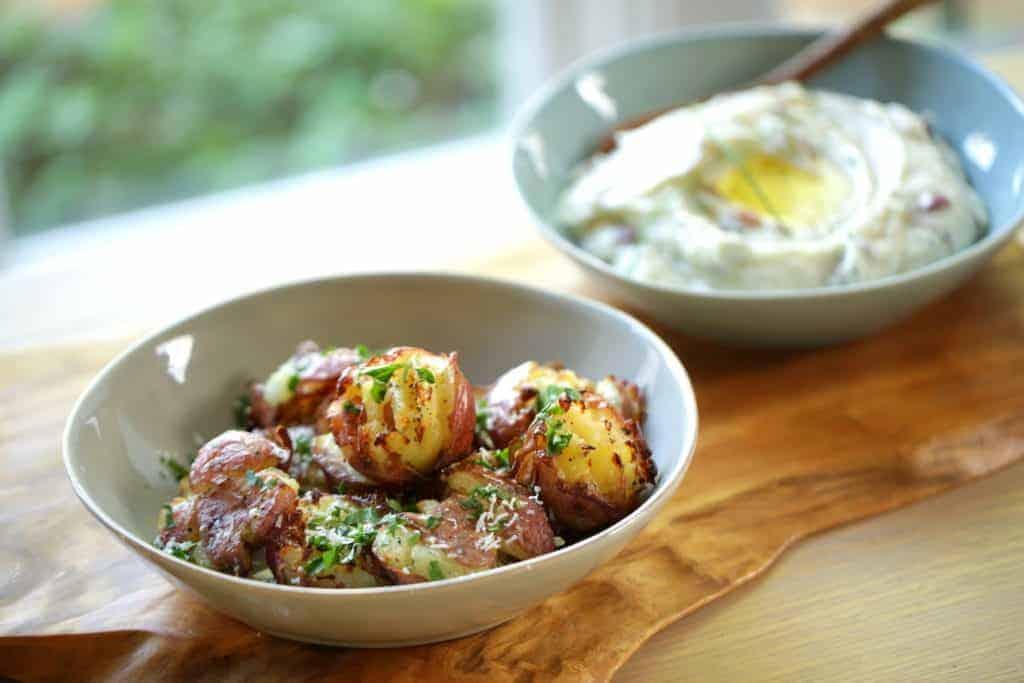 Smashed Potato and Mashed Potato Recipes