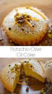 Pistachio Olive Oil Cake Recipe