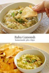 Baba Ganoush with Pita Chip