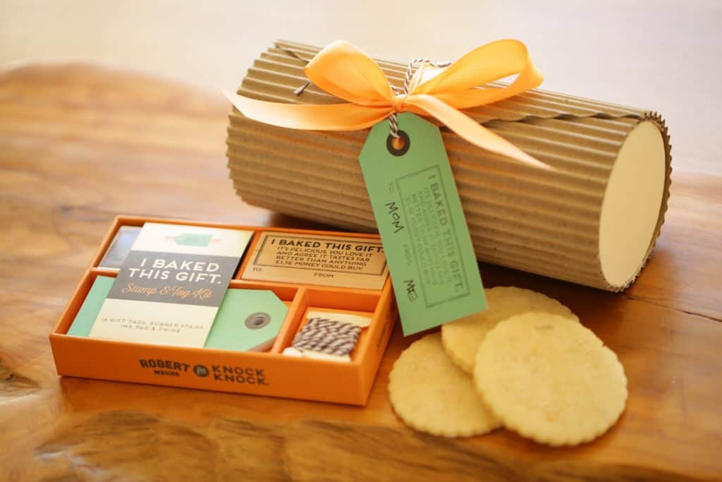 DIY Packaging from Robert Mahar for Lemon Thyme Sugar Cookies