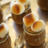 S'more Pudding Pot
