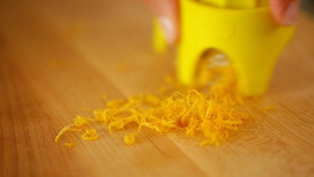 Grated Lemon Zest