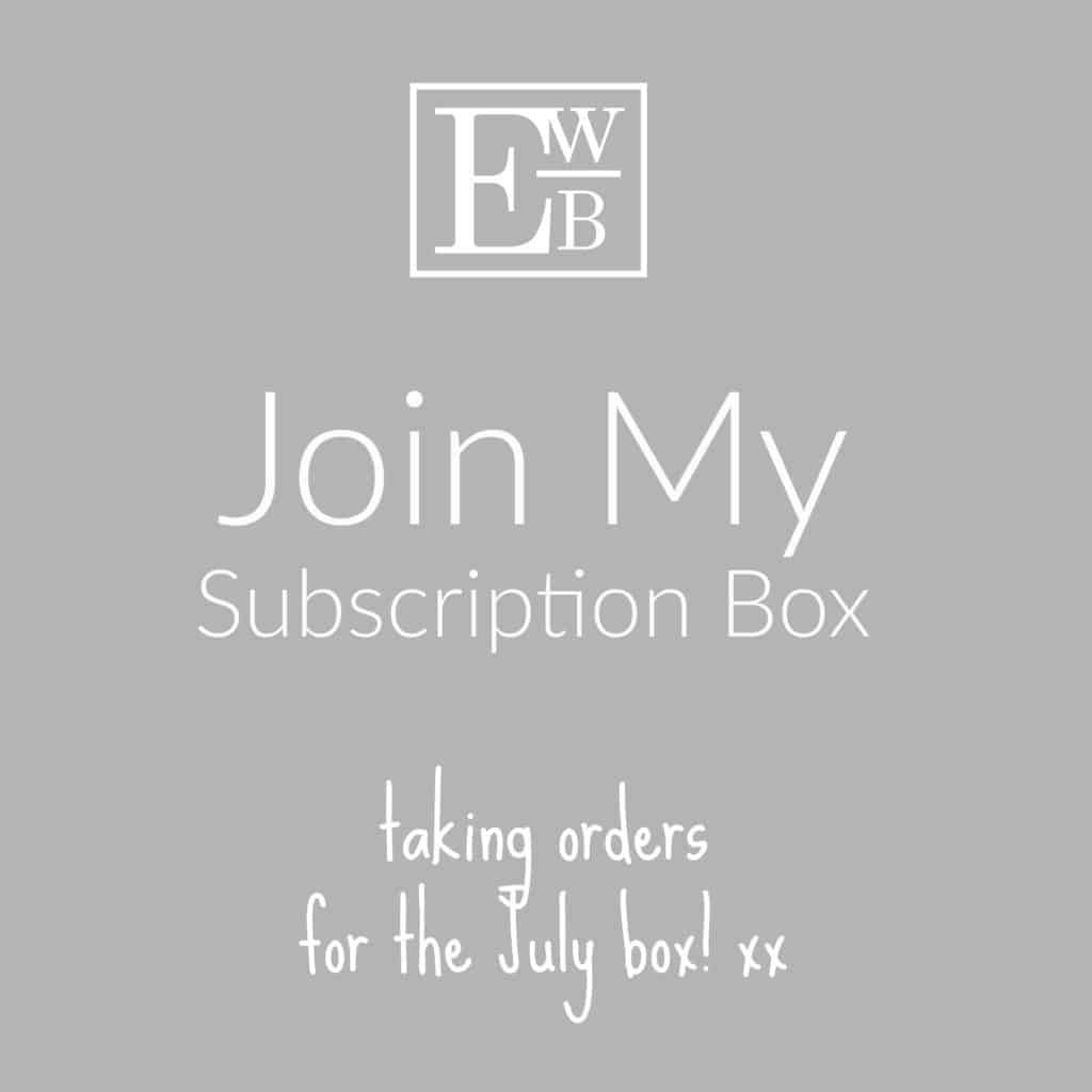 Entertaining with Beth Subscription Box graphic