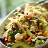 Shrimp Salad with Avocado and Mango
