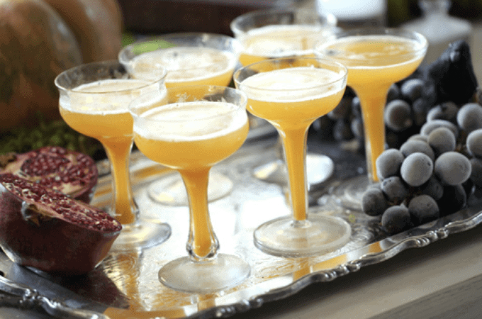 Pumpkin Punch from a Halloween Menu Ideas for Adults