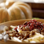 Fall Harvest Salad. Part of a Halloween Menu Ideas for Adults