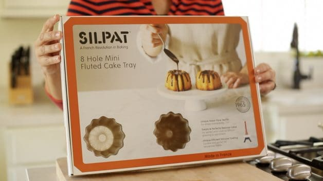 Silpat Baking Mold in a box part of a list of Gifts for Foodies