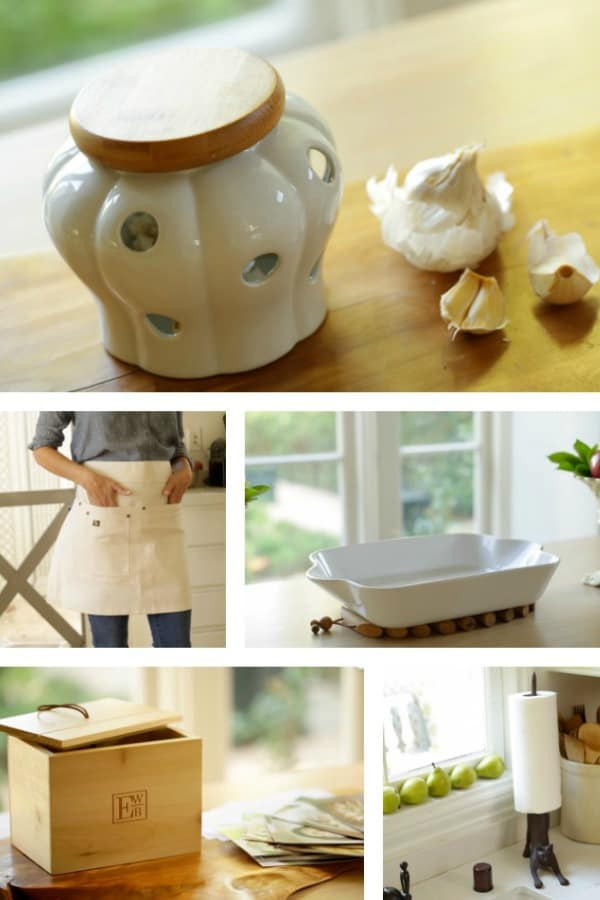 Collage of various Gifts for Foodies