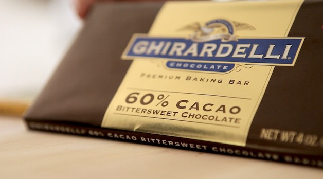 Bittersweet chocolate packaging showing 60% cacao