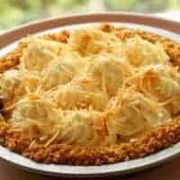 Coconut Cream Pie with Coconut Milk