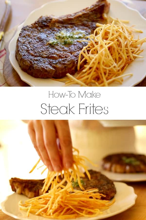 Collage of Steak Frites