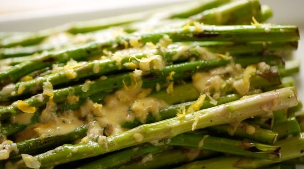 Charred Asparagus Salad Recipe