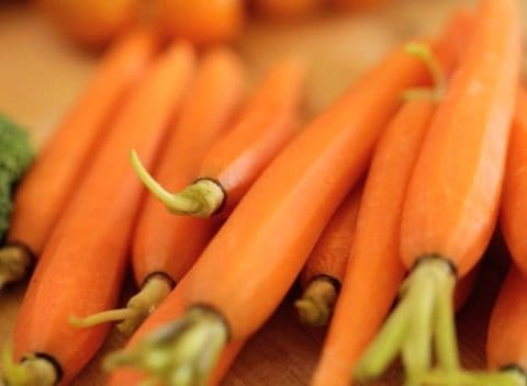 Carrots for Green Goddess Dressing