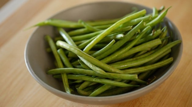 Green beans for No-Mayo Potato Salad Recipe