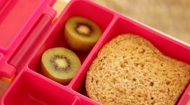 Avocado Sandwich with kiwi in Omie Lunchbox