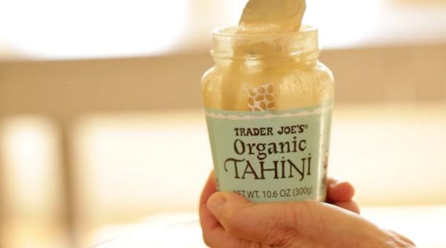Bottle of Tahini