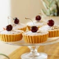 Cherry Bakewell Tart Recipe