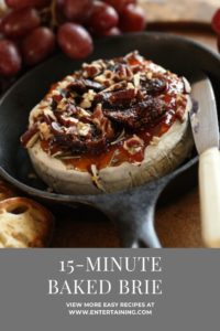 Baked Brie Graphic for Pinterest