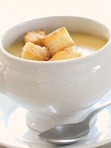 Potato Leek Soup No Cream