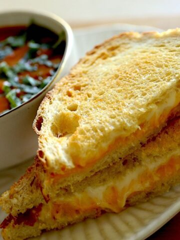 Air Fryer Grilled Cheese Recipe