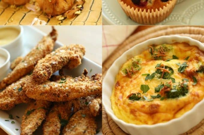 Collage of the top 10 Air Fryer Recipes