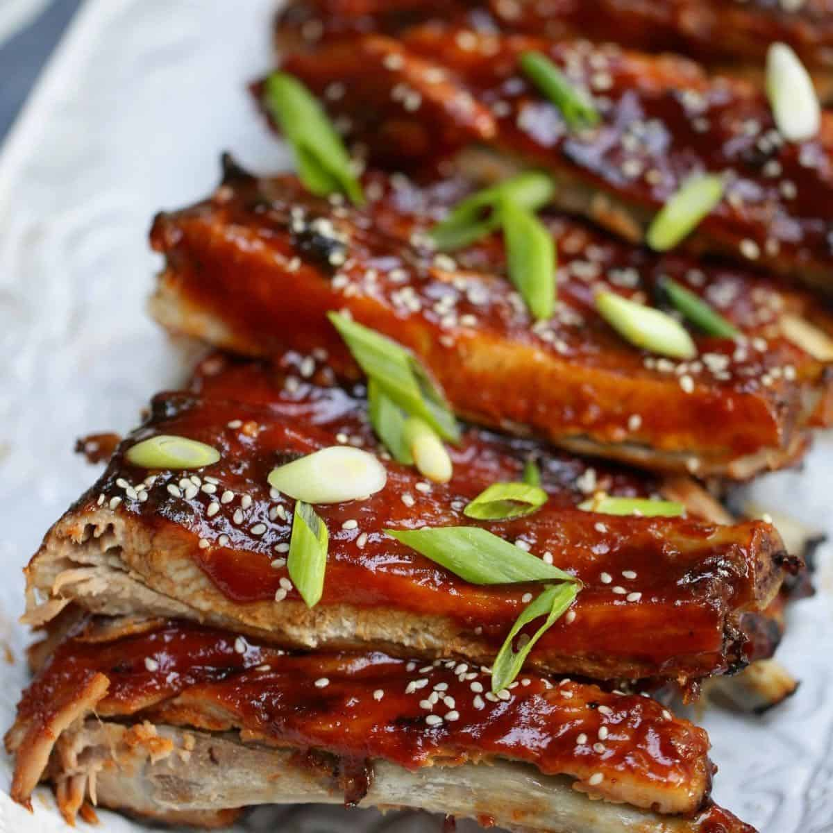 Ribs in Oven then Grill Recipe