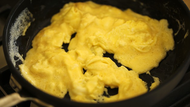 Scrambled Egg Curds