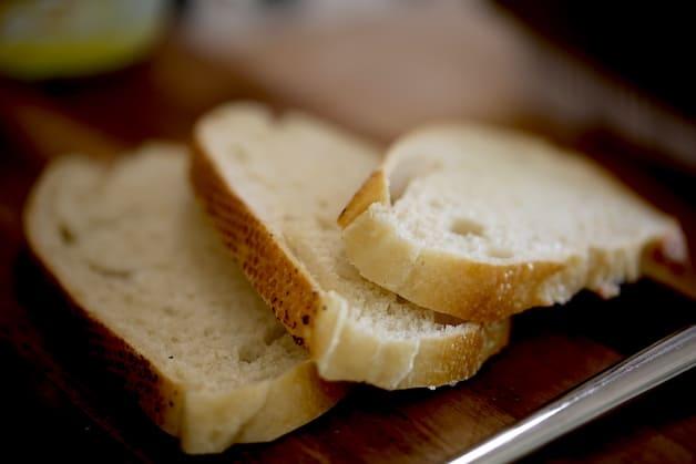 3 slices of sourdough bread