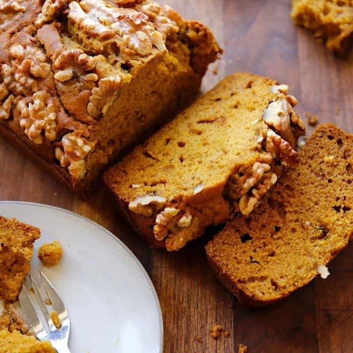Beth's Extra Moist Pumpkin Bread Recipe