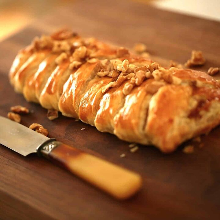 Brie and Fig Jam Braid