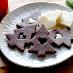 Chocolate and Vanilla Sugar Cookies